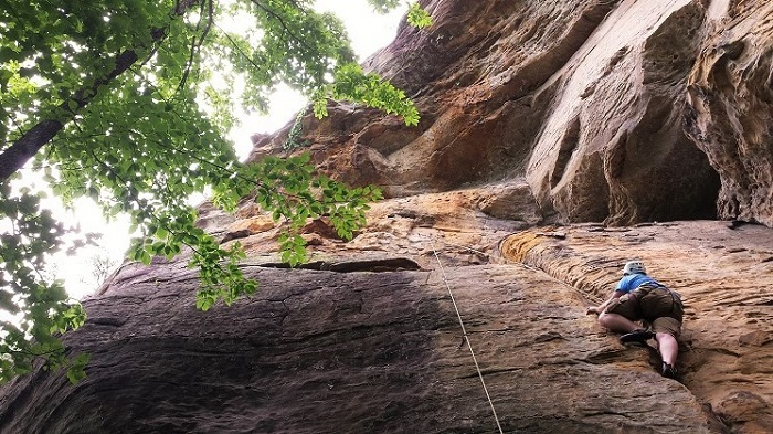 Red River Gorge Climbing