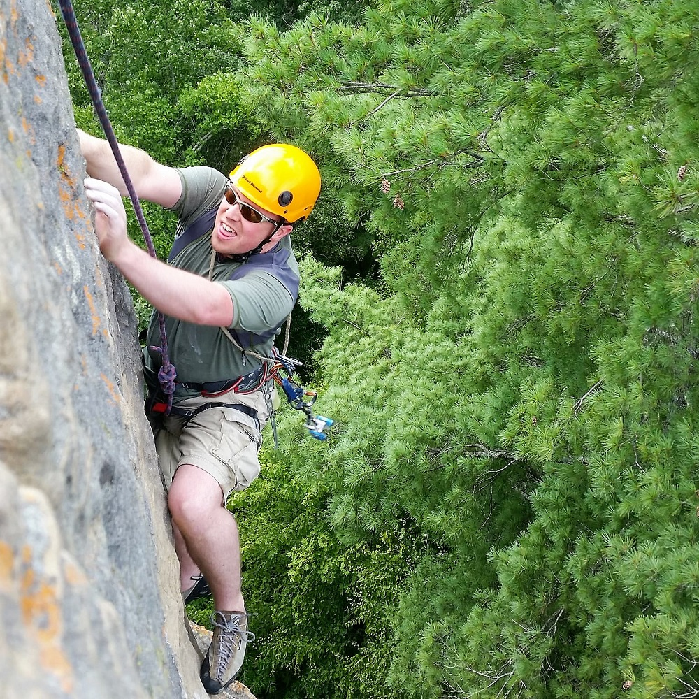 red river gorge climbing guide service